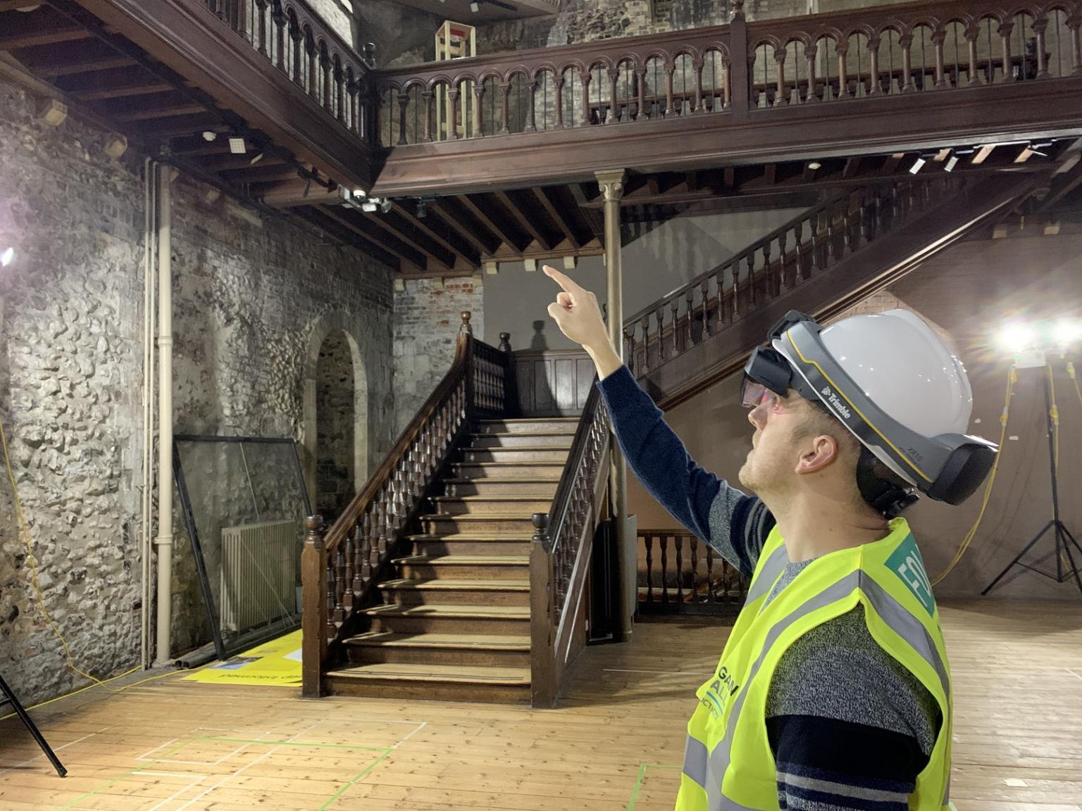 mixed reality construction James Lee Burgess