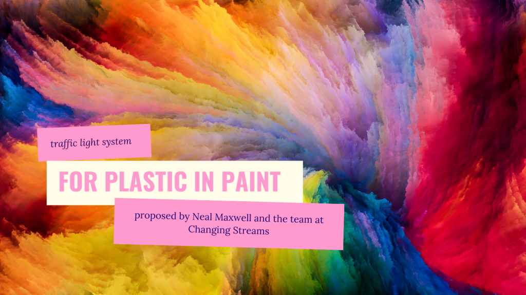 plastic in paint traffic light system