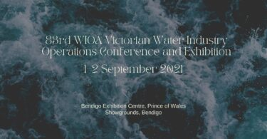 83rd WIOA Victorian Water Industry Operations Conference and Exhibition
