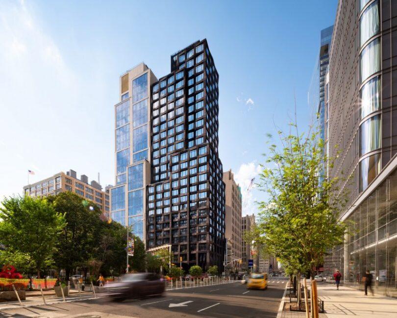 111 Varick is built in Manhattan's Hudson Square neighbourhood