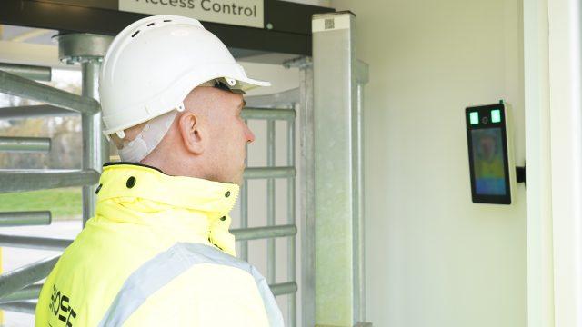 Robertson introduce Biosite Facial Recognition on UK's first National Robotarium site