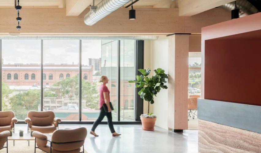 """Education First office in Denver takes cues from city's """"outdoorsy culture"""""""
