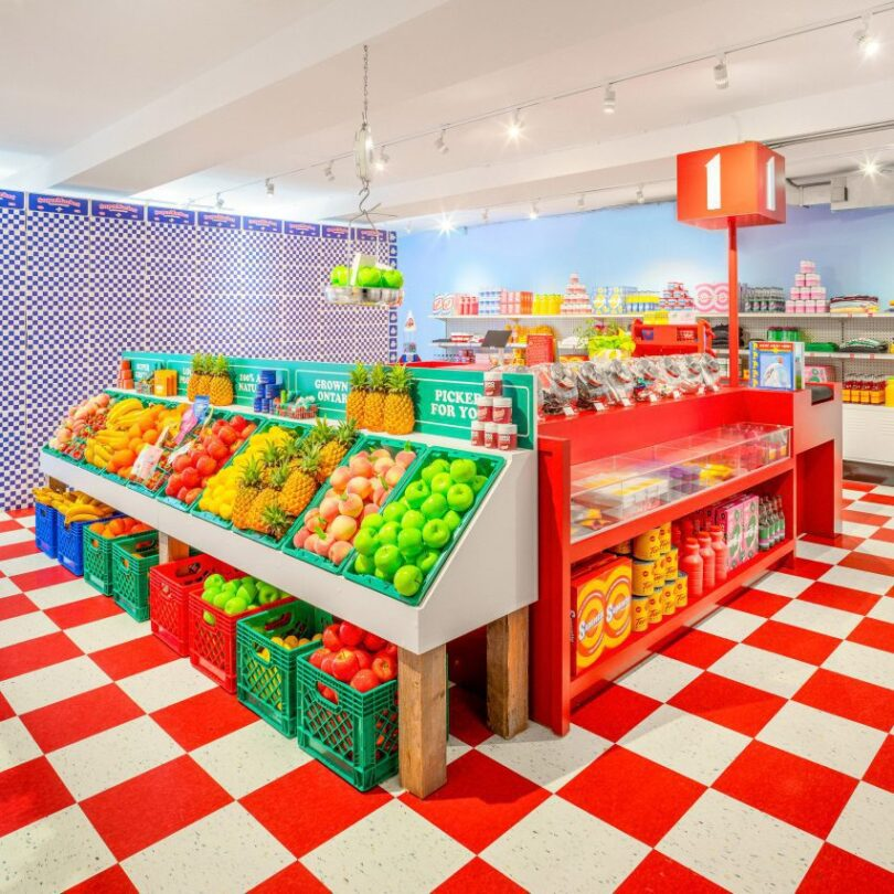 Superette cannabis dispensary in Toronto resembles a retro grocery store